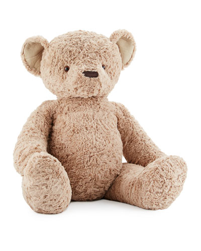 Stanley Huge Stuffed Teddy Bear Brown