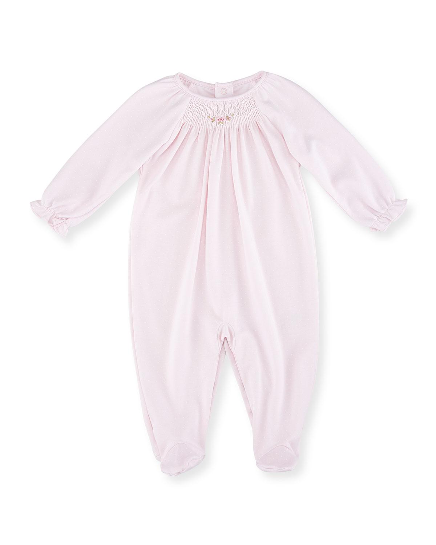 CLB Fall Bishop Footie Pajamas, Pink, Size Newborn-9 Months