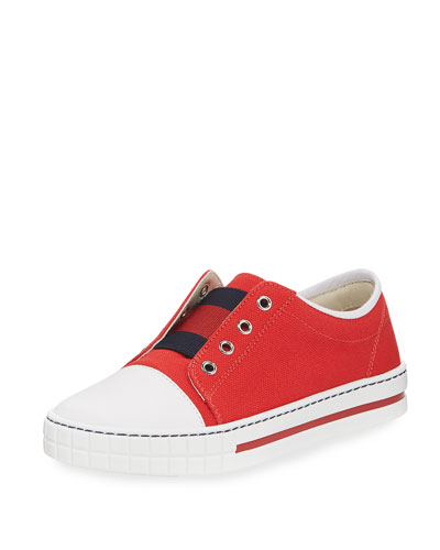 Canvas Slip-On Sneaker, Toddler/Youth Sizes 11T-2Y