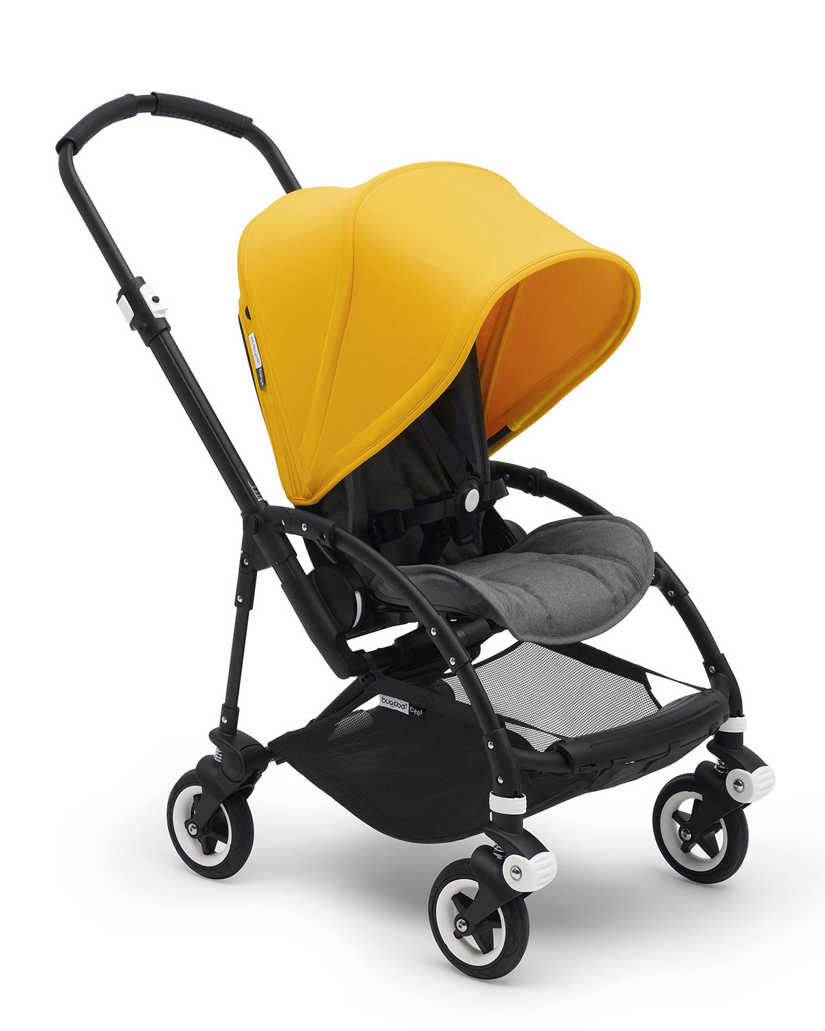 Bugaboo Bee⁵ Complete Stroller, Yellow / gray