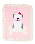 Puppy Love Plush Baby Blanket