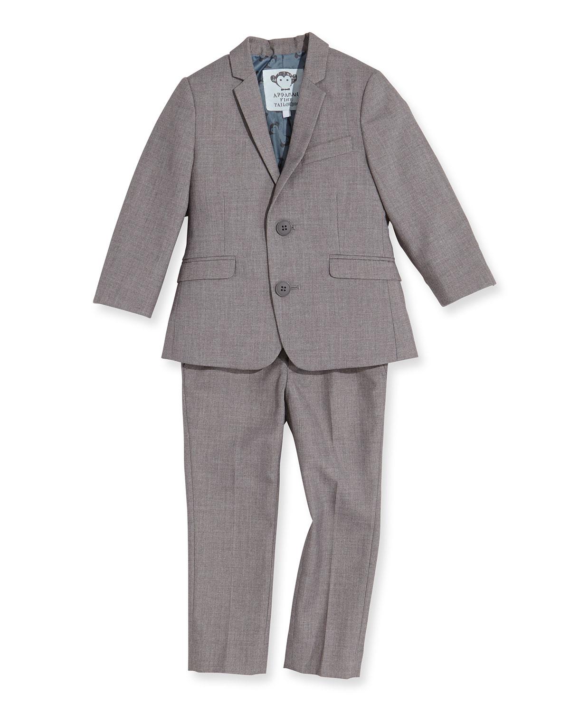 Boys TwoPiece Mod Suit Mist 2T14
