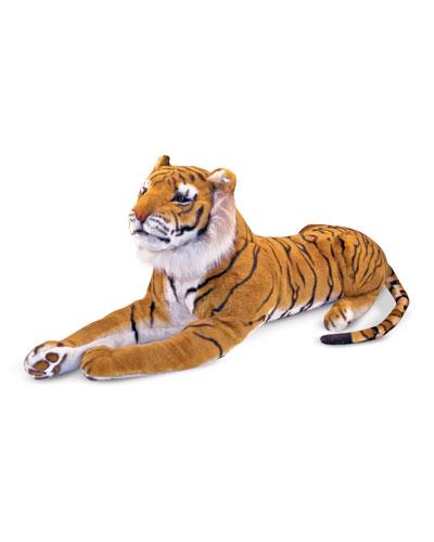 Giant Plush Tiger Stuffed Animal