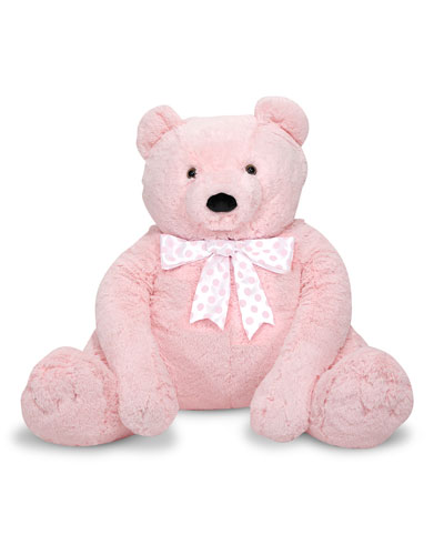Jumbo Teddy Bear Light Pink