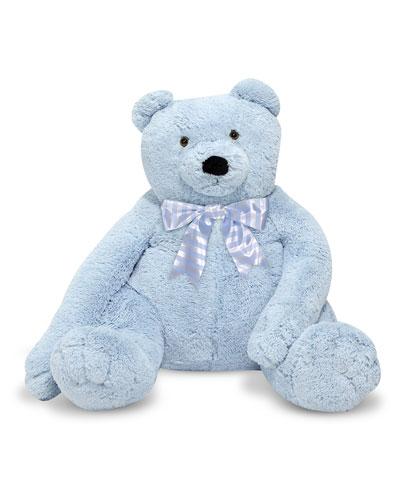 Jumbo Teddy Bear Light Blue