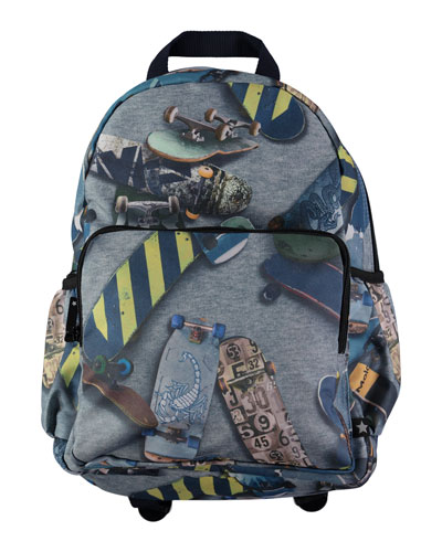 Boys' Skate Big Backpack, Dark Gray