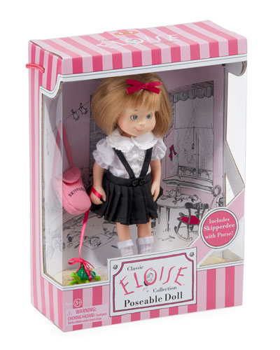 Eloise Poseable Doll w/ Skipperdee in Box
