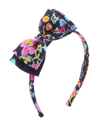 Girls' Chine Garden Bow Headband