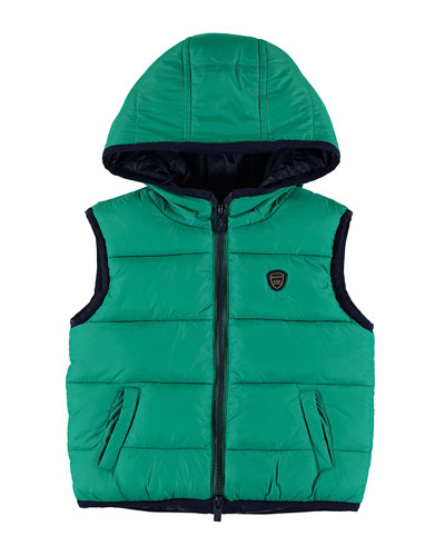 Reversible Quilted Vest, Size 6-36 Months