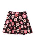 floral-print skater skirt, size 2-6
