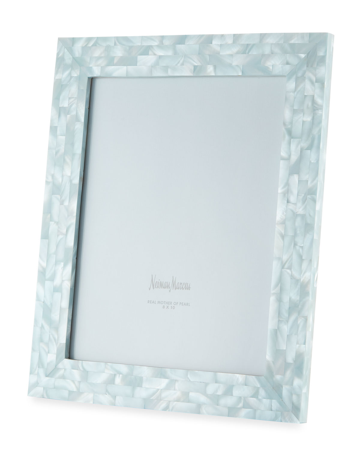 """The Jws Collections Picture frames MOTHER-OF-PEARL PICTURE FRAME, BLUE, 8"""" X 10"""""""