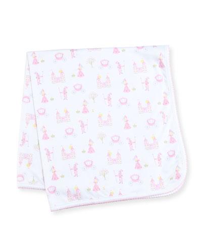 Enchanted Princess Pima Baby Blanket