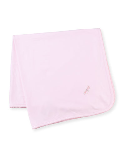 Belle Fleur Pima Baby Blanket