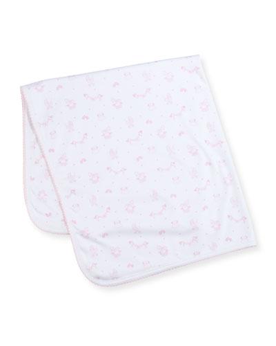 Rockabye Buggy Printed Baby Blanket