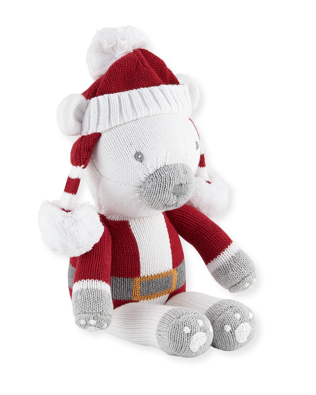 Boys Polar Bear Santa Doll 14