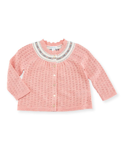 Halo Knit Cardigan, Size 9-24 Months