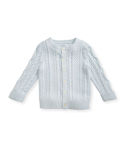 a40d5a4de Quick Look. Ralph Lauren Childrenswear · Soft Pearl Cotton Cable-Knit  Cardigan