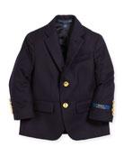 Ralph Lauren Childrenswear Lessona Wool Blazer, Size 2-4