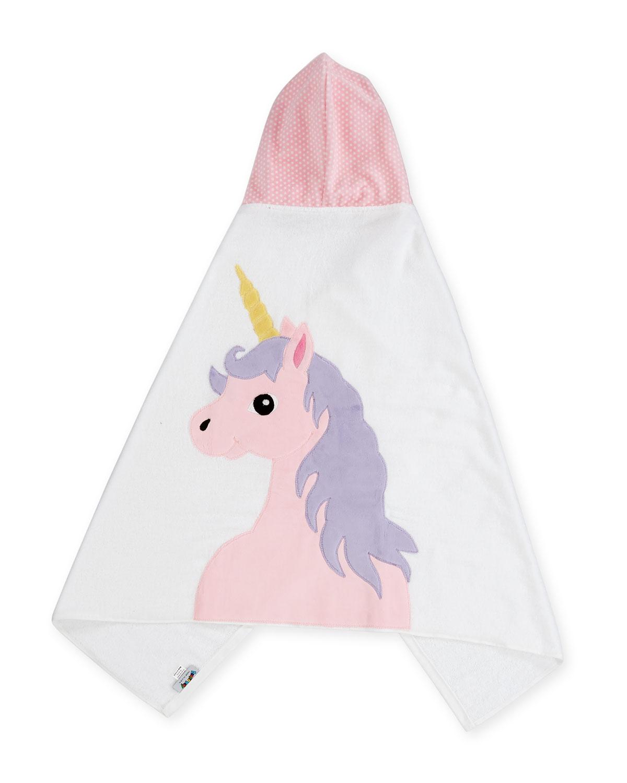 Unicorn Hooded Bath Towel