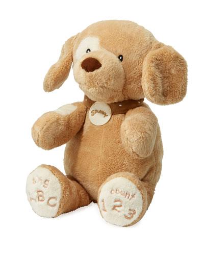 ABC 123 Spunky Dog Stuffed Animal 14