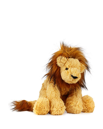 Lion Cozy Stuffed Animal, 10