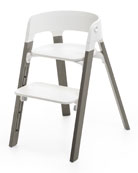Steps Complete Chair, Light Gray