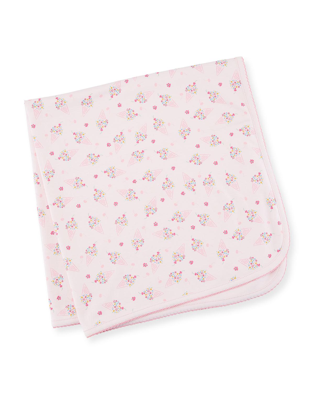 Cherry on Top Printed Pima Baby Blanket