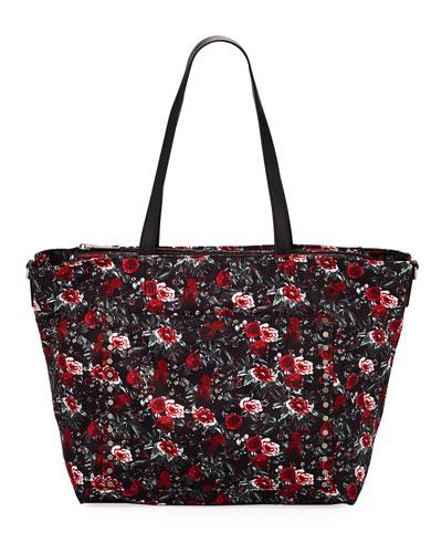 c7982fcf203bd0 Quick Look. Rebecca Minkoff · Logan Floral Nylon Diaper Tote Bag
