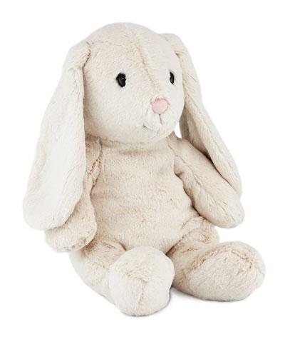 Large Hoppie Rabbit, Light Grey