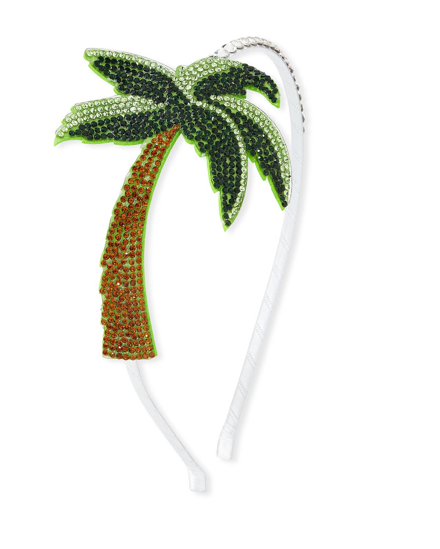 Bari Lynn Girls Crystal Palm Tree Headband e324oLl