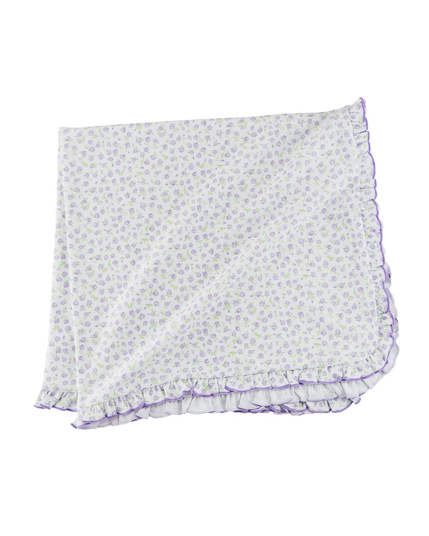 Rambling Roses Pima Blanket