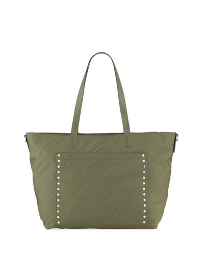 Logan Nylon Diaper Tote Bag