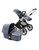 Bugaboo Fox Complete Stroller - Blue and Matching