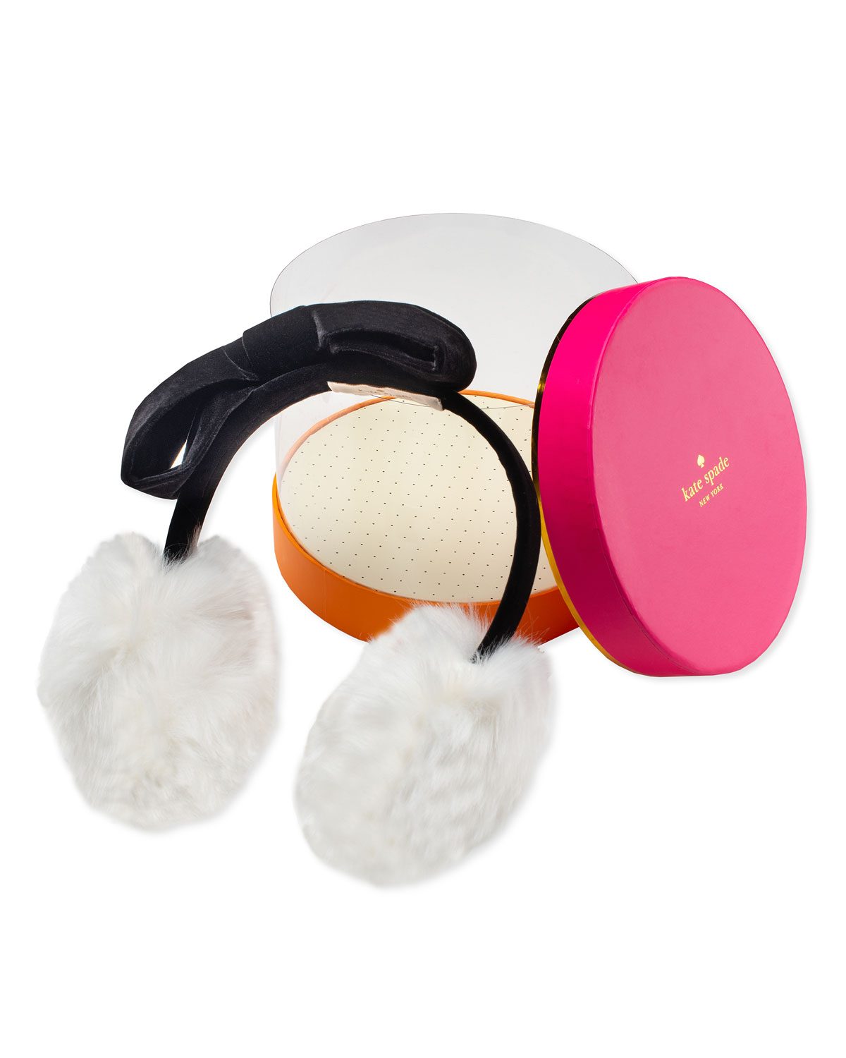 girls' faux fur earmuffs