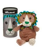 Les Deglingos Simply Jelekros the Lion Stuffed Toy