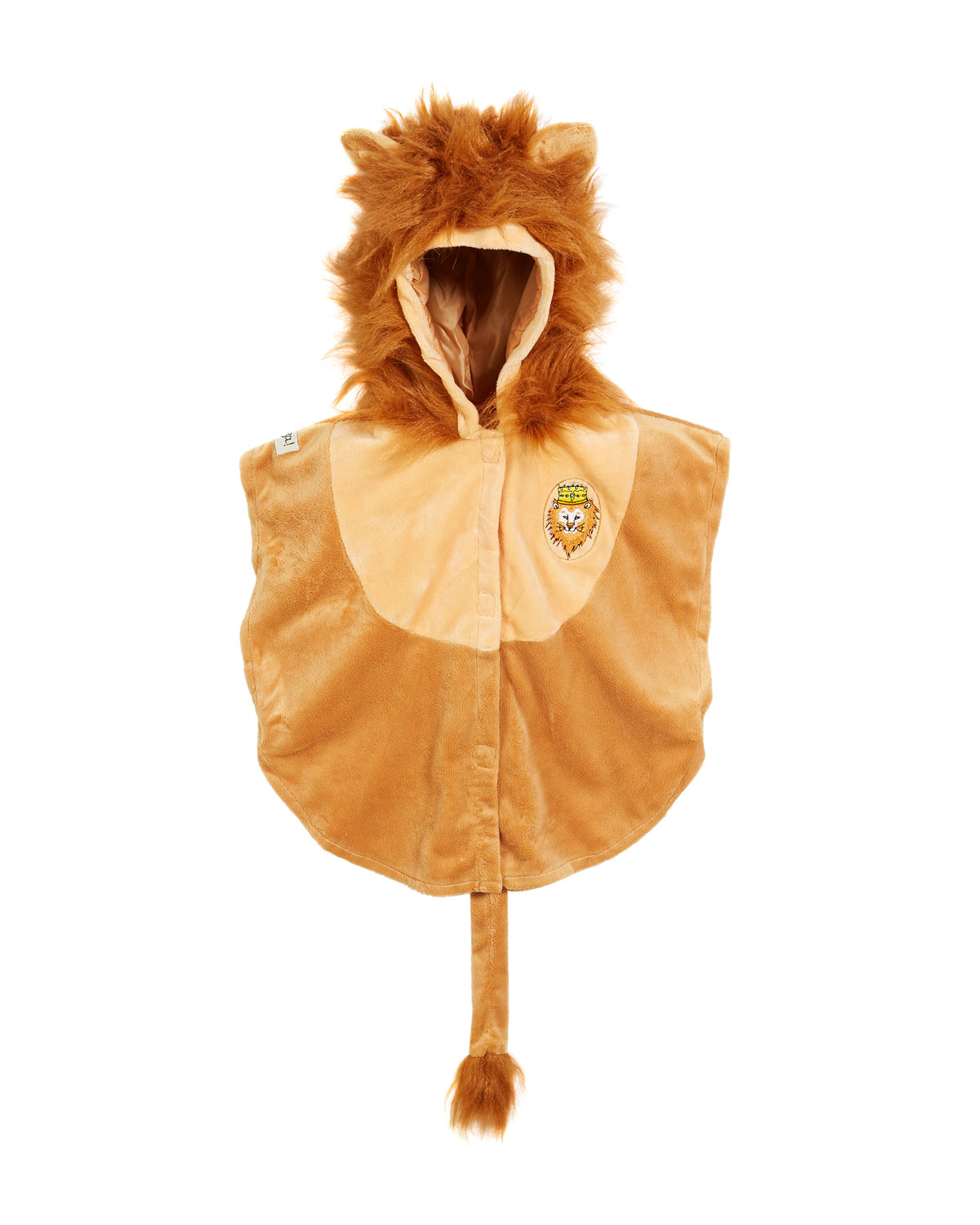 Baby Lion Peke Cape Costume 2Y