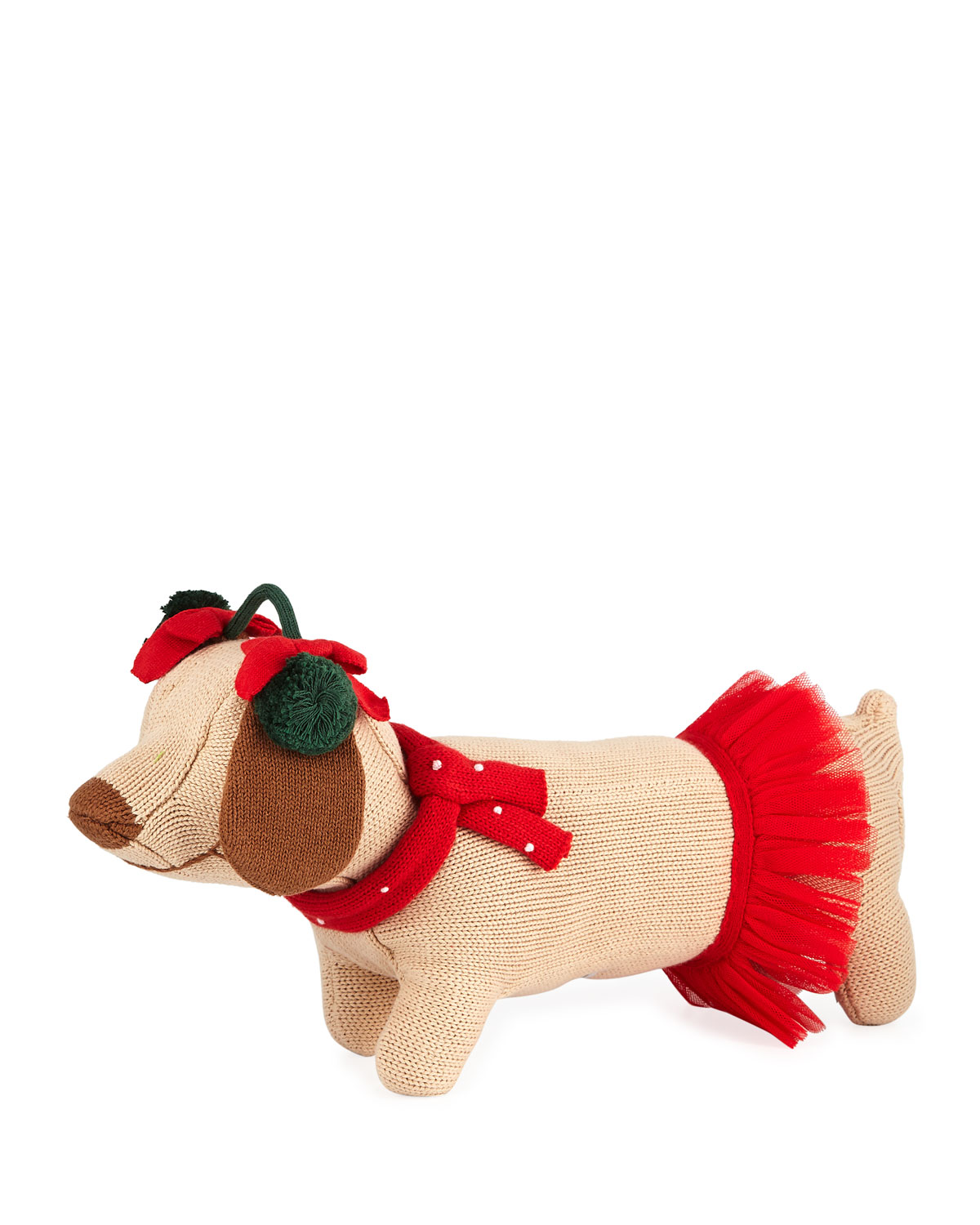 Knit Dog Doll 14
