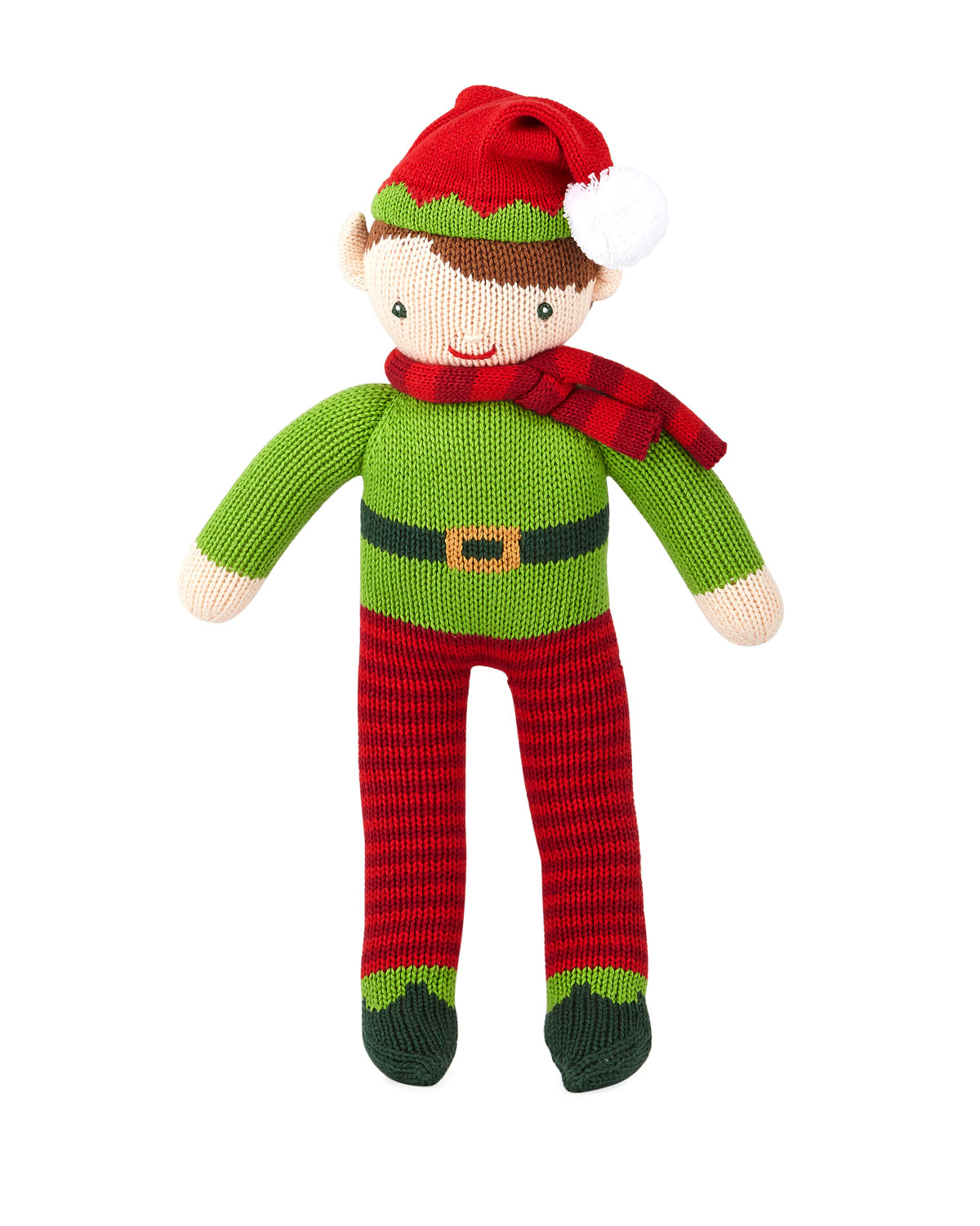 Knit Boy Elf Doll 14