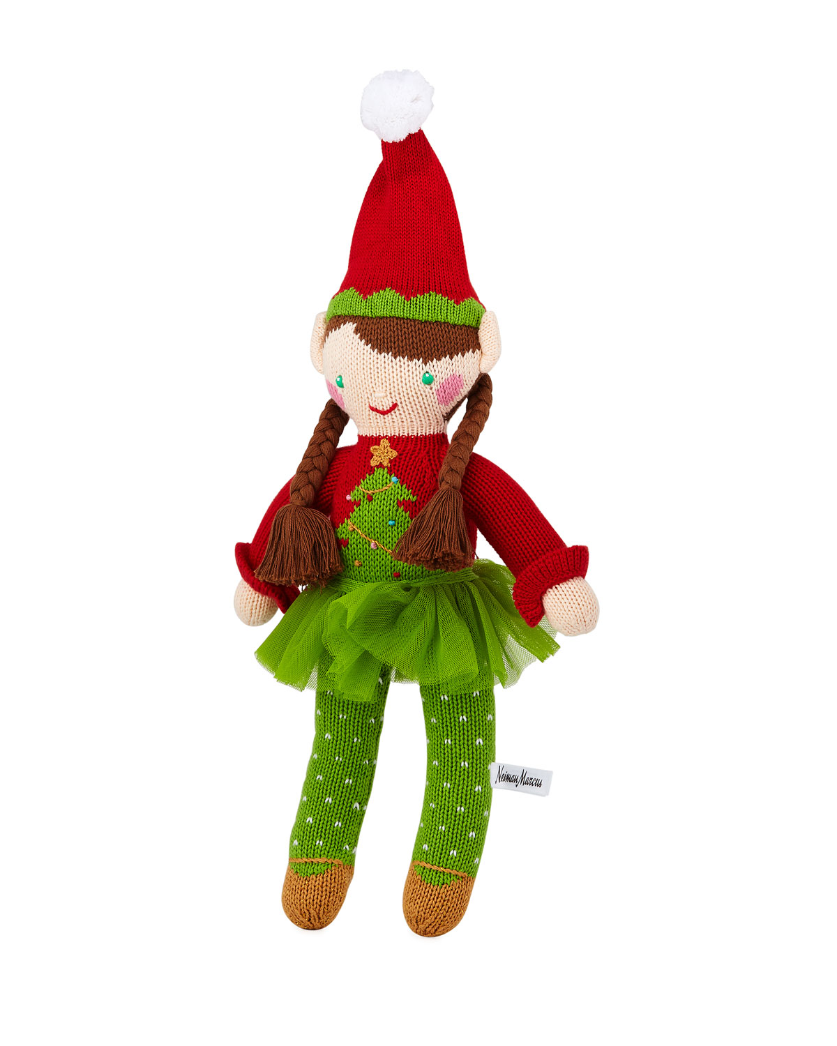 Christmas Tree Girl Elf Doll 14