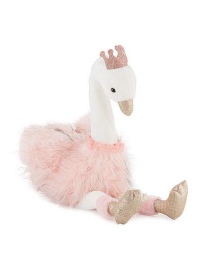 Gold Feet /& Birthday Hat by Oh Joy! Plush Baby Toy Stuffed Animal PARTY SWAN