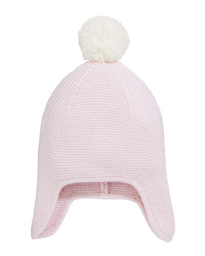 Pink Knit Hat  555ec6f10c83