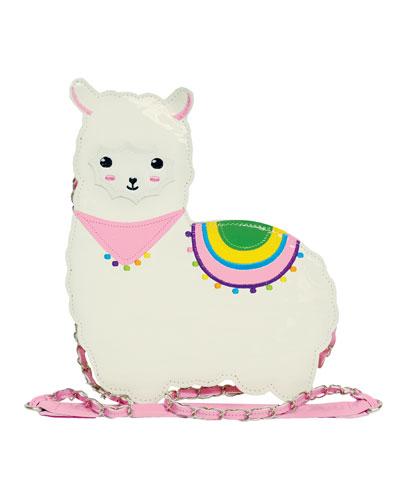 Girls' Llama Crossbody Bag
