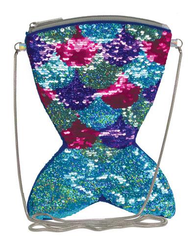 Kids' Mermaid Sequin Crossbody Bag
