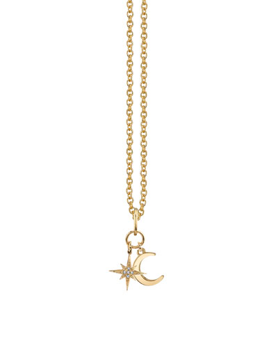 2580bc9e888 14 Karat Gold Charms Necklace   Neiman Marcus