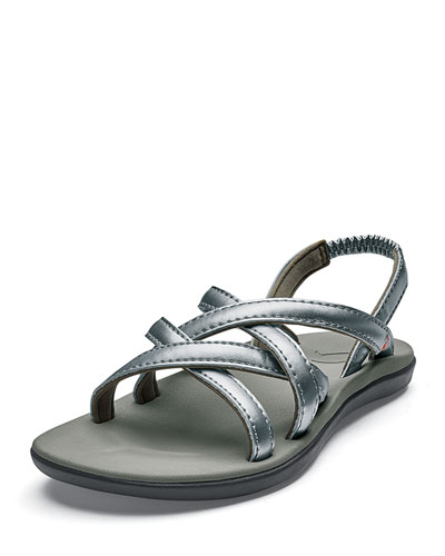 Girls' Kalapu Crisscross Sandals, Baby/Kid