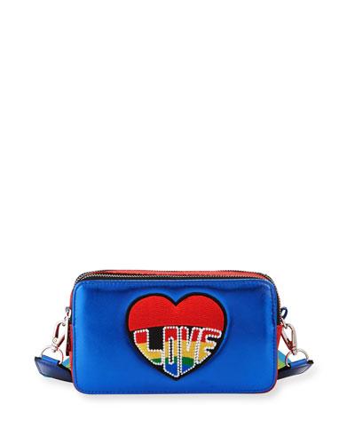 Girls' Bluelove Metallic Crossbody Bag