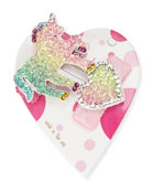 Bari Lynn Heartuni Glitter Unicorn & Heart Hair
