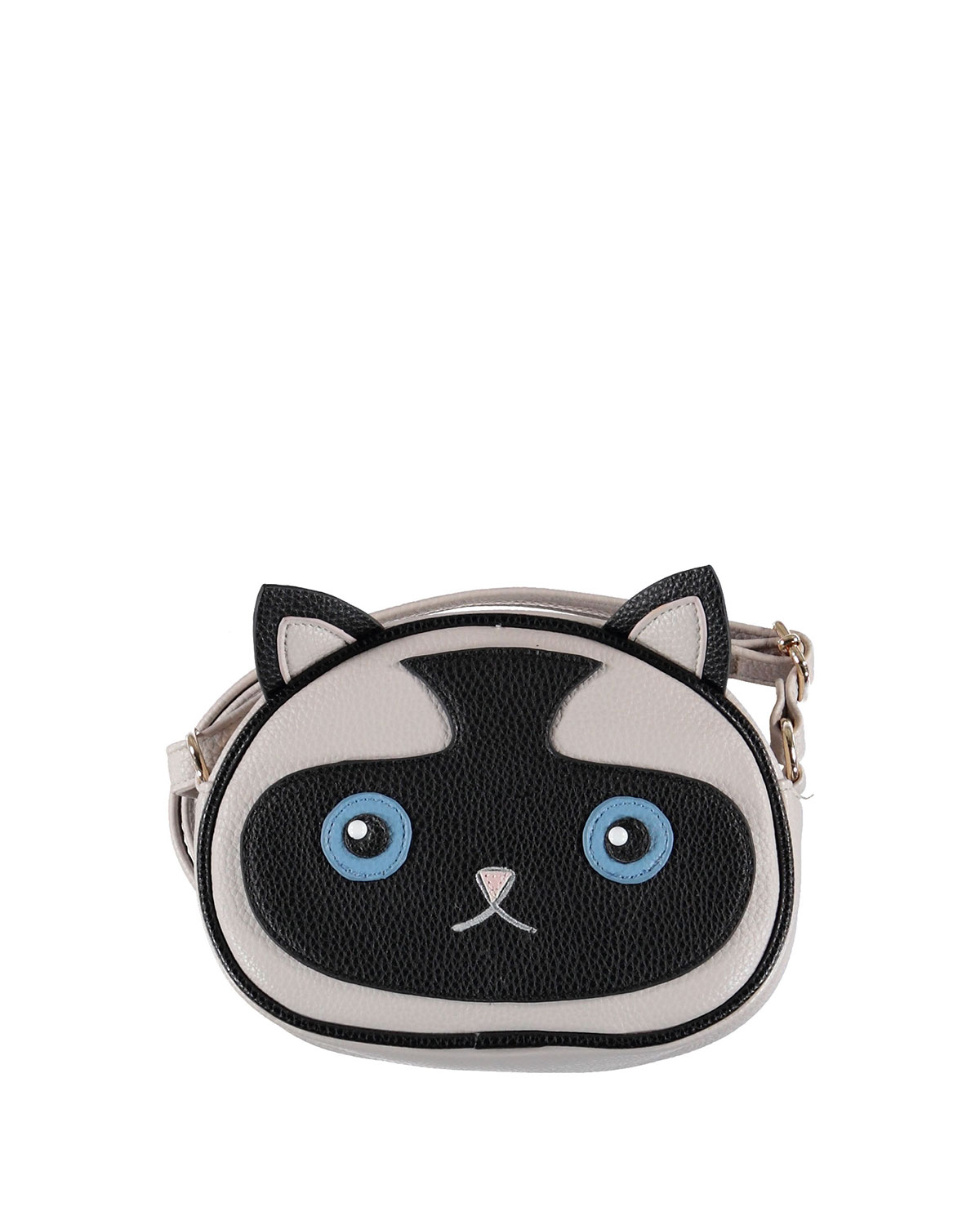 Molo GIRLS' SIAMESE KITTY CAT CROSSBODY BAG