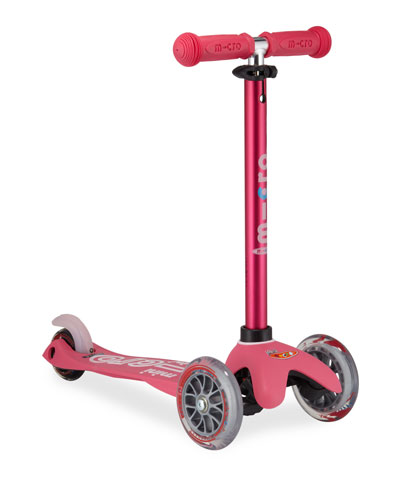 Micro Mini Deluxe Kick Scooter, Pink, Ages 2-5