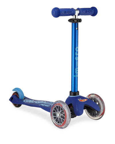 Micro Mini Deluxe Kick Scooter, Blue, Ages 2-5